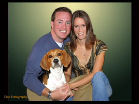 Family Dog Portrait by Pet Photographer Fine Furtography.com